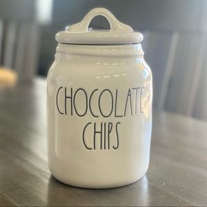 NEW Rae Dunn Baby CHOCOLATE CHIPS Canister